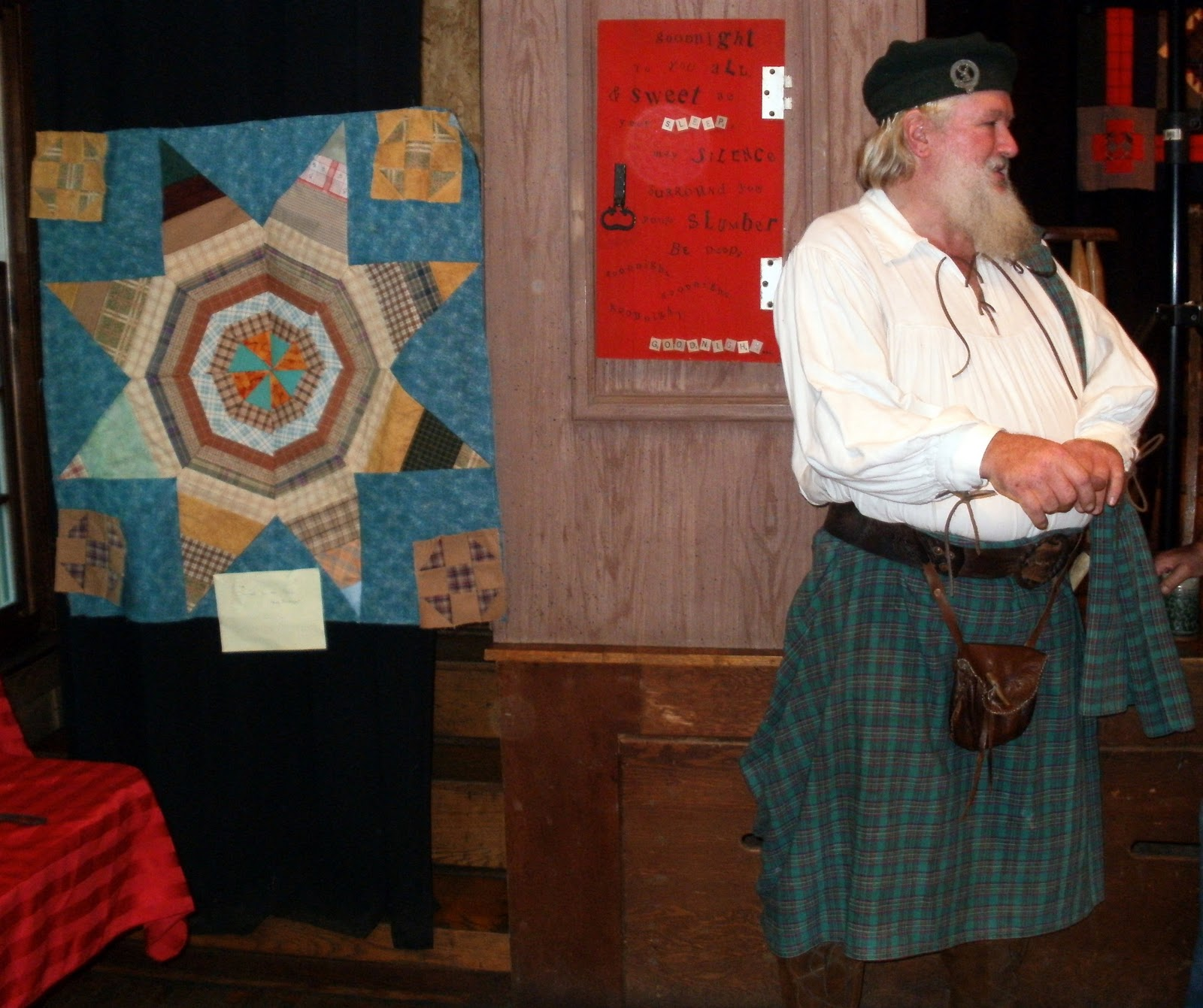 A Quilt and a Kilt