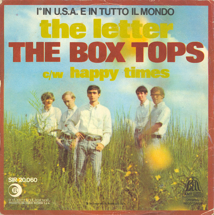the box tops the letter rottendanish it 39 s about linguistics disambiguation 25141 | the box tops the letter ricordi international